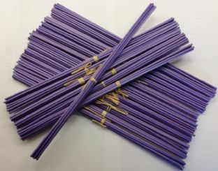 Purple Fibre Diffuser Reeds | 3mm Diameter | 300mm Long (Pack of 8 Reeds)